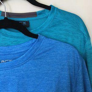 2 Mens short sleeve T-Shirts, size L